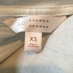 "LC Lauren Conrad Tops - NWT! Lauren Conrad ""Date Night"" T-shirt"